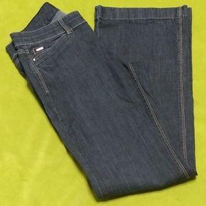 WHBM Trouser leg jeans nwot